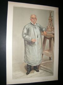 Vanity Fair Print 1905 Thomas Brock, Artist
